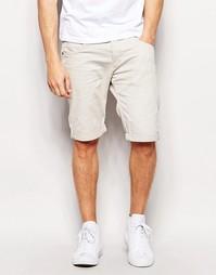 Хлопковые шорты Wrangler - Яичная скорлупа