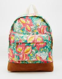 Рюкзак с цветочным принтом Gola