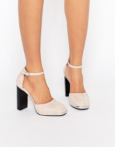 Замшевые туфли на каблуке Senso Zac III - Blush