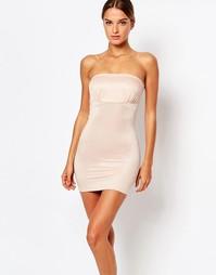 Моделирующее платье-сорочка бандо Smoothies - Телесный Smooothees