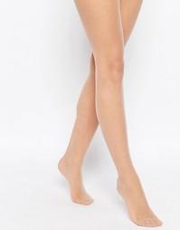 Нюдовые матовые колготки плотностью 15 ден ASOS - Natural nude