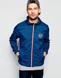 Легкая куртка с капюшоном Jack & Jones - Синий