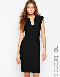 Облегающее платье-футляр с короткими цельнокройными рукавами Y.A.S Tal