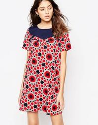 Платье в стиле вестерн со звездочками Noisy May Aubrey - Черный ирис