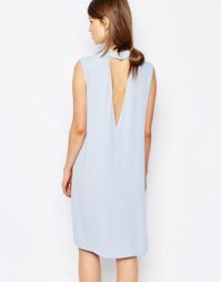 Цельнокройное платье с глубоким V-образным вырезом Samsoe & Samsoe The Samsøe &; Samsøe