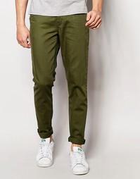 Зеленые джинсы скинни ASOS - Thyme