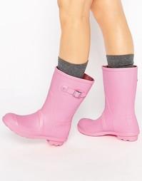 Резиновые сапоги ASOS GET MOVING - Розовый