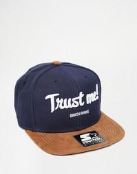 Бейсболка Cheats Trust Me - Темно-синий