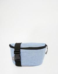 Сумка-кошелек на пояс из шамбре Mi‑Pac - Синий