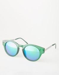 Круглые солнцезащитные очки с зеркальными линзами Trip
