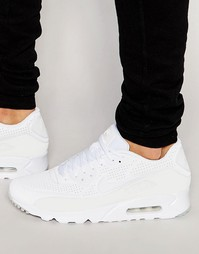 Кроссовки Nike Air Max 90 Ultra Moire 819477-111 - Белый