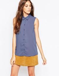 Рубашка без рукавов JDY - Винтажный синий