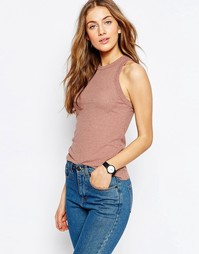 Майка в рубчик ASOS The Fancy - Fawn