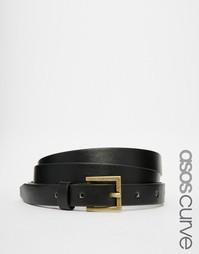 Винтажный ремень ASOS CURVE - Черный