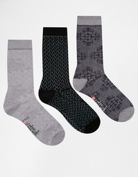 Комплект из 3 пар носков в розовый горошек Lovestruck