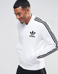 Белая спортивная куртка adidas Originals adicolor B10664 - Белый