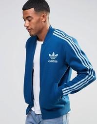 Синяя спортивная куртка adidas Originals adicolor B10666 - Синий
