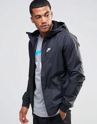Черная ветровка Nike 727324-010 - Черный