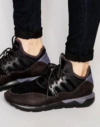 Кроссовки Adidas Tubular Moc - Черный
