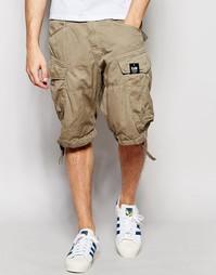 Свободные шорты карго с поясом G-Star Rovic