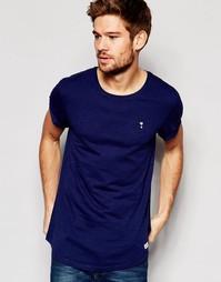 Длинная футболка Esprit - Темно-синий