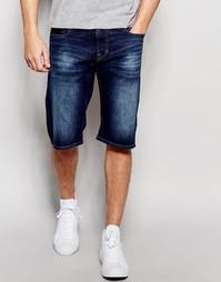 Джинсовые шорты Esprit - Умеренный синий