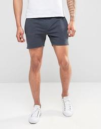 Трикотажные короткие шорты Only & Sons - Темно-синий