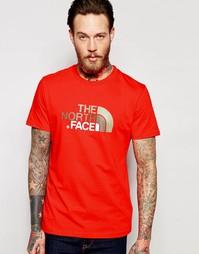 Футболка с логотипом The North Face Easy - Красный