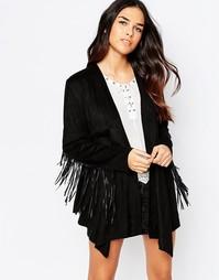 Пиджак с бахромой Jovonna Wild West - Черный
