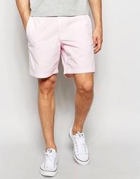 Узкие шорты в стиле преппи бледно-розового цвета Abercrombie & Fitch