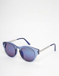 Круглые солнцезащитные очки Trip - Синий