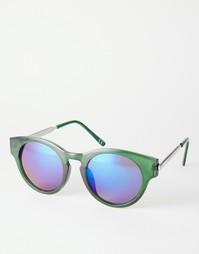 Круглые солнцезащитные очки Trip - Зеленый