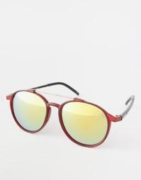Круглые солнцезащитные очки Trip - Красный