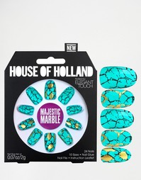 Накладные ногти House Of Holland By Elegant Touch - Majestic Marble