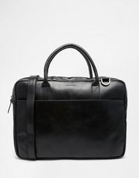 Кожаная сумка для ноутбука с одним отделением Royal RepubliQ Explorer