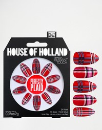Накладные ногти House Of Holland By Elegant Touch - Perfectly Plaid