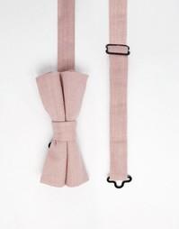 Розовый галстук-бабочка ASOS - Розовый