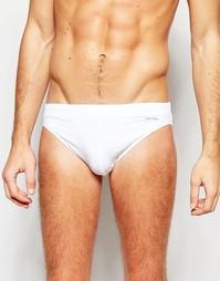 Шорты-хипстеры для плавания Calvin Klein - Белый
