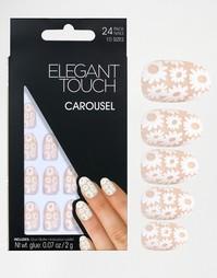 Короткие накладные ногти ограниченной серии Elegant Touch - Carousel