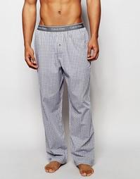 Свободные штаны в клетку для дома Calvin Klein - Мульти