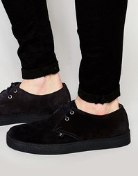 Замшевые ботинки чукка Farah Fame - Черный