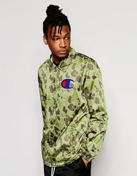 Спортивная куртка с камуфляжным принтом Champion - Камуфляжный