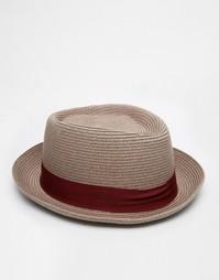 Фетровая шляпа ASOS Splash - Коричневый Goorin