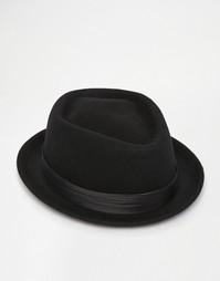 Шляпа Brixton Pork Pie - Черный