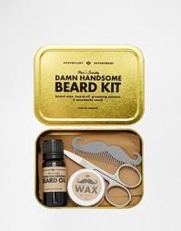 Набор для ухода за бородой Men's Society - Мульти