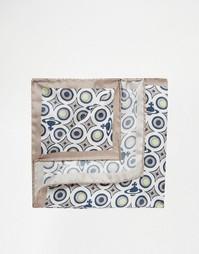 Платок-паше с фирменным принтом Vivienne Westwood - Белый