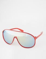 Солнцезащитные очки-маска Trip - Красный