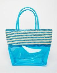Небольшая пляжная сумка Carpisa - Бирюзовый