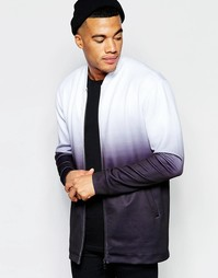 Куртка-пилот из неопрена Jaded London - Серый