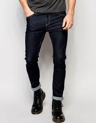 Облегающие синие джинсы скинни Cheap Monday - Естественный синий